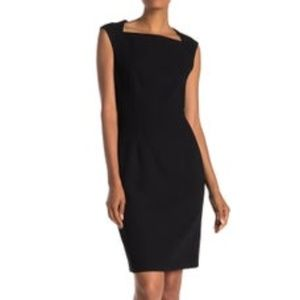 HUGO BOSS NWT Sheath Sleeveless Dress
